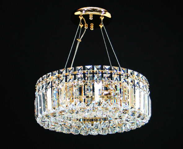 Tube 24W LED Chandelier