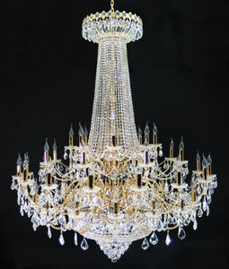 Big chandeliers dreamlite emperor 192w led chandelier aloadofball Image collections