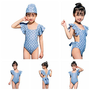 The Paniz Polka Dot one Piece - Little Ones Boutique