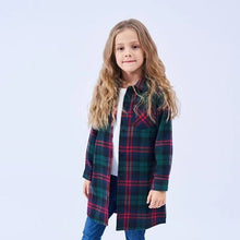 Load image into Gallery viewer, The Mattie Plaid Blouse - Little Ones Boutique