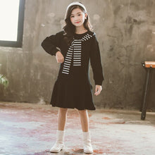 Load image into Gallery viewer, The Parker Hooded Dress - Little Ones Boutique