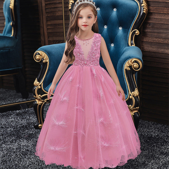 The Zinnia Gown - Little Ones Boutique