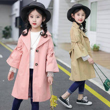 Load image into Gallery viewer, The Lia Trench Coat - Little Ones Boutique