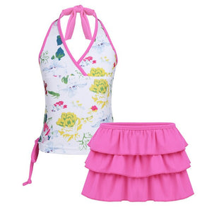Bryn Halter Tankini Suit - Little Ones Boutique