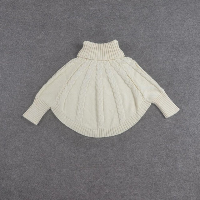 Girls Cloak Sweater - Little Ones Boutique
