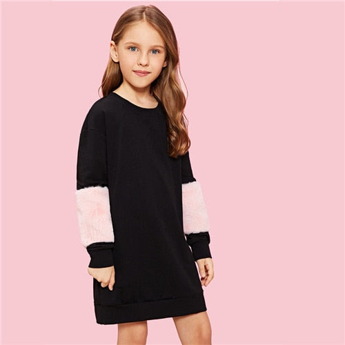 The Maggie Sweatshirt Dress - Little Ones Boutique