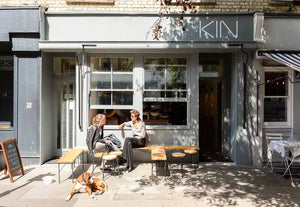 Kin Cafe, London, featured on ZERRIN's London travel guide for conscious living