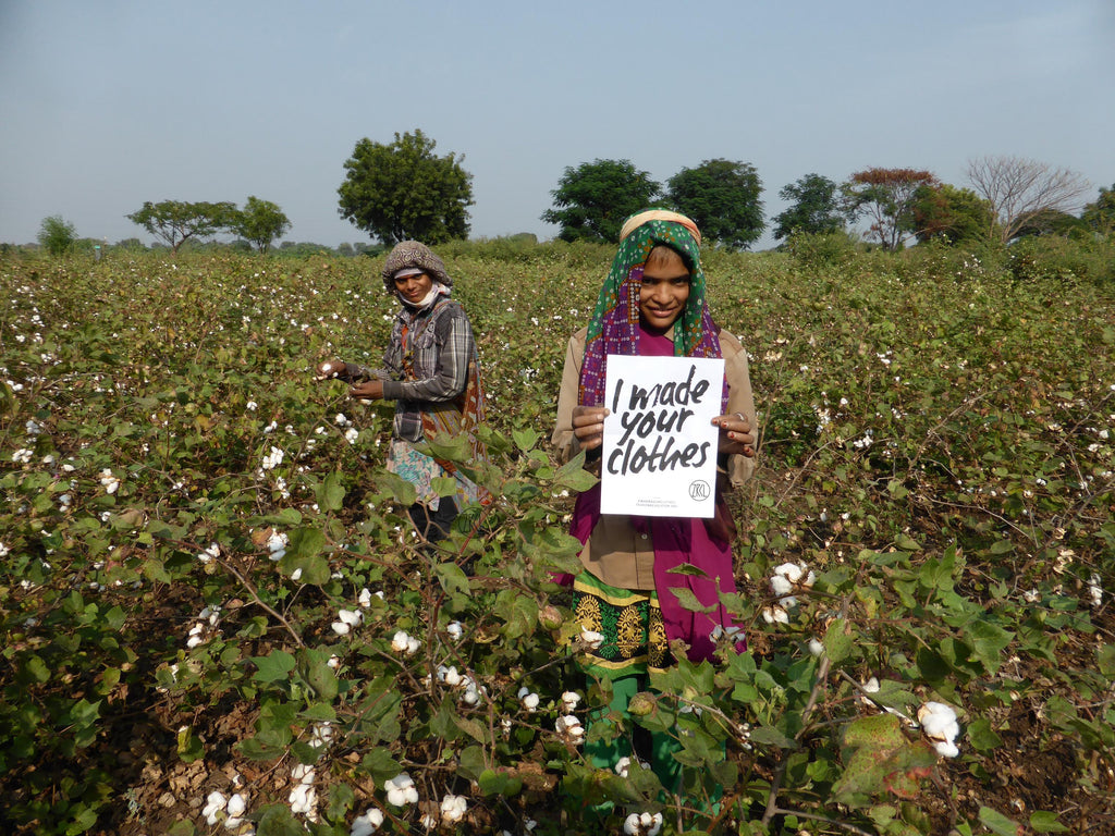 Cotton farmers, image by Fashion Revolution