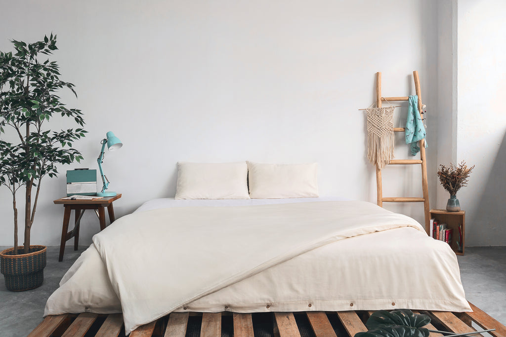 Sheets by bedding and homeware business SOJAO are made from 100% GOTS certified organic cotton
