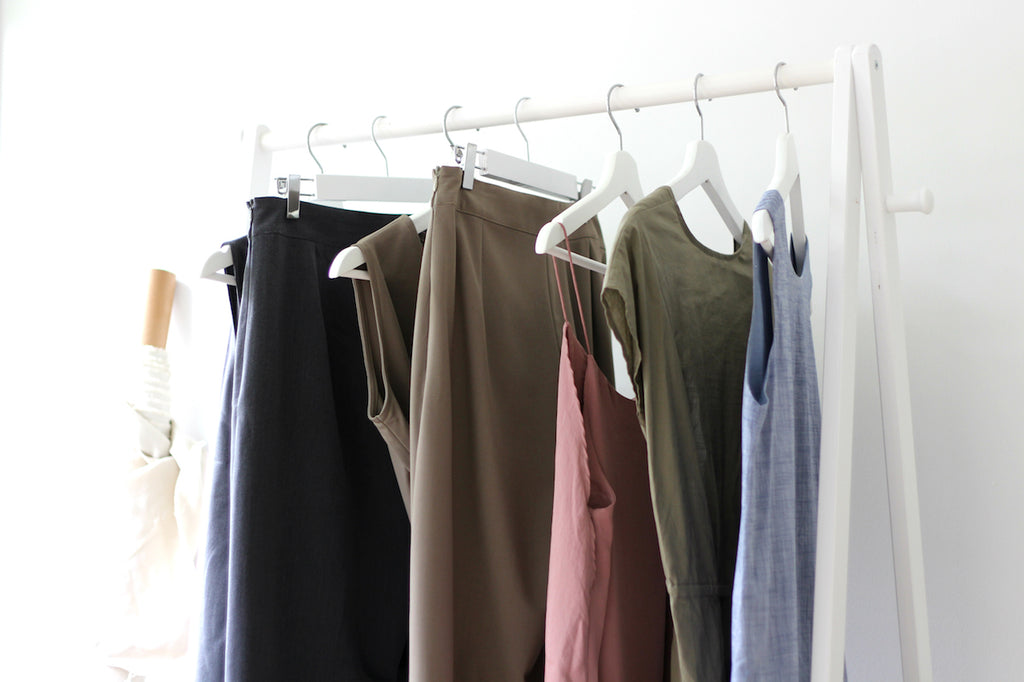 The latest collection from Esse uses sustainable fabrics like tencel, bamboo and 100% organic cotton