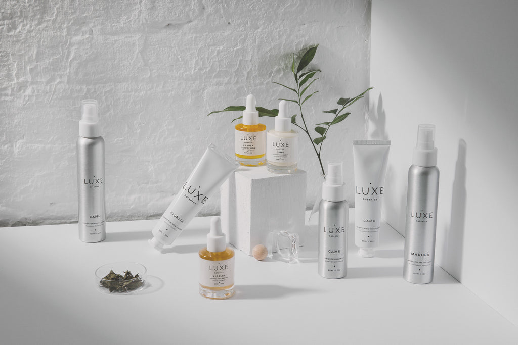 Natural beauty range by Luxe Botanics