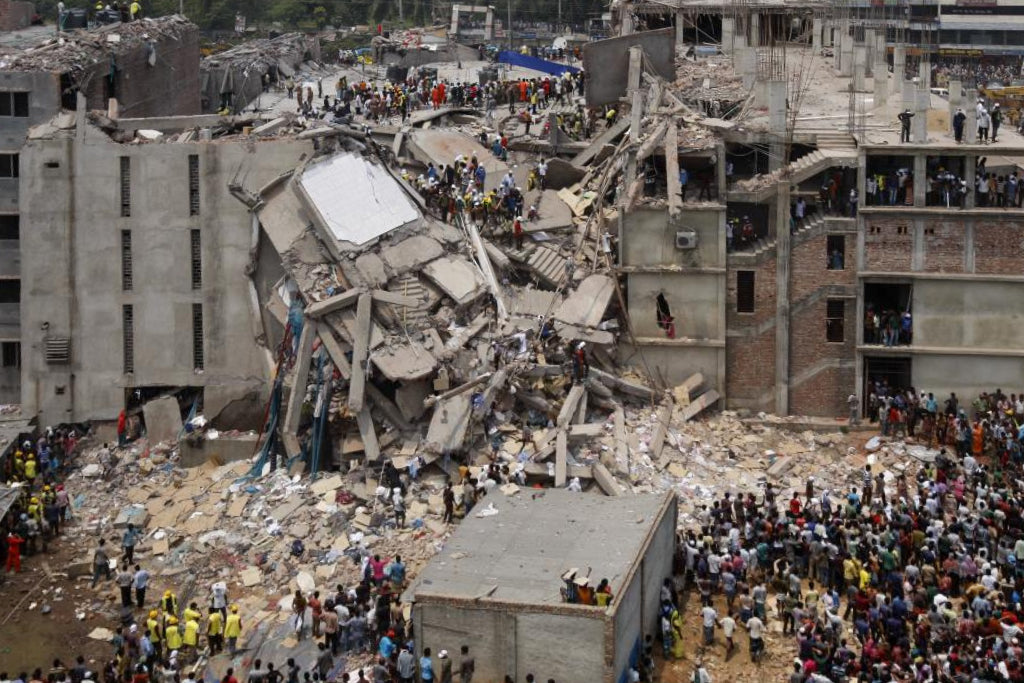 Rana Plaza factory collapse of 2013 | Why sustainable fashion matters