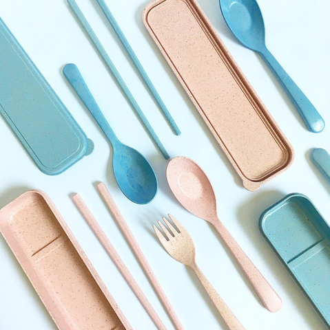 Buy some reusable cutlery to reduce your daily plastic usage - ZERRIN