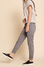 Tove & Libra Drawstring Pant in Chambray