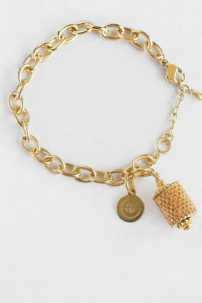 Eden & Elie Everyday Charm Bracelet in Gold