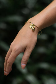 Women's zodiac bracelet by Pyar, available on ZERRIN with free Singapore shipping