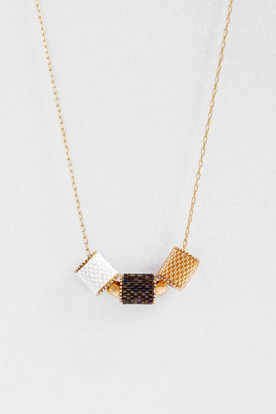 Eden & Elie Everyday Adjustable Necklace in Bark