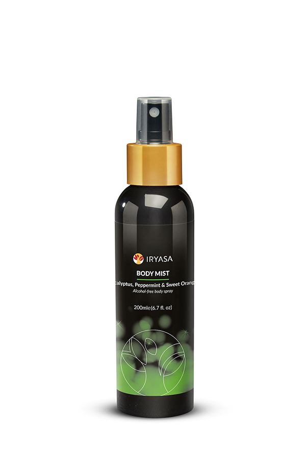 Iryasa Eucalyptus, Peppermint & Sweet Orange Body Mist