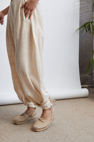 Sui Weave Easy Relaxed Trousers