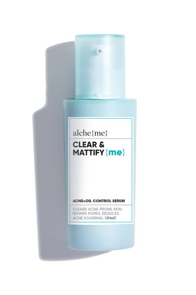 alcheme skincare clear & mattify serum, available on ZERRIN