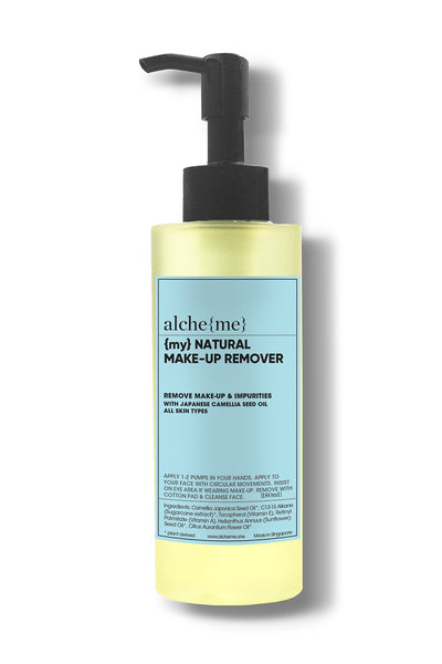 alcheme skincare natural make up remover, available on ZERRIN