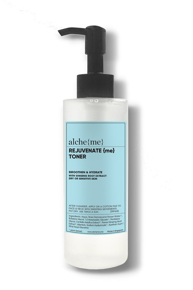 alcheme skincare rejuvenate me toner, available on ZERRIN