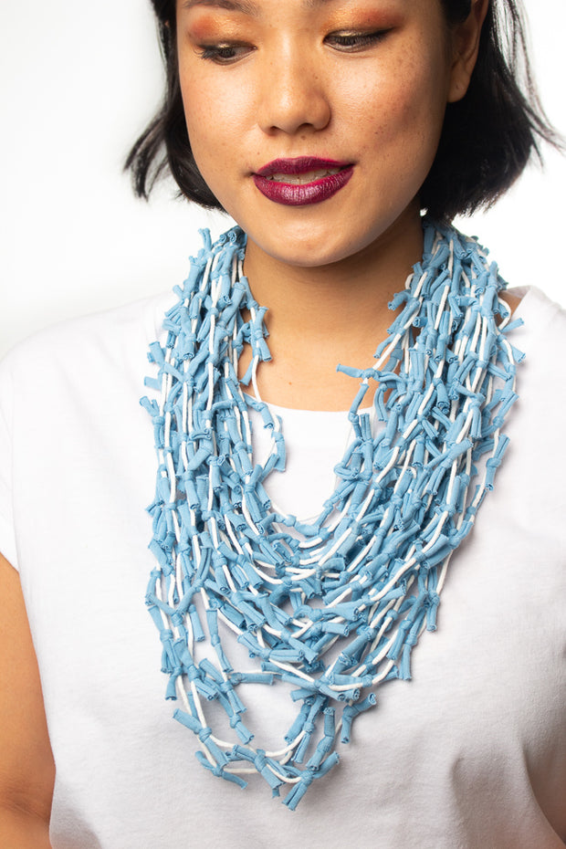Label Ishana Bali Necklace in Blue