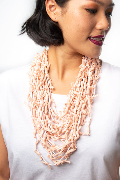 Label Ishana Bali Necklace in Pink