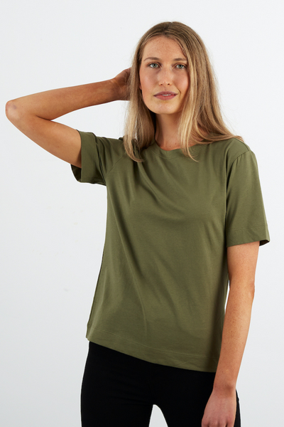 Dorsu Signature T-Shirt in Jade, available on ZERRIN