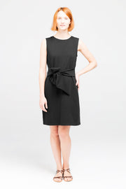 Dorsu Black Tie Dress, available on ZERRIN