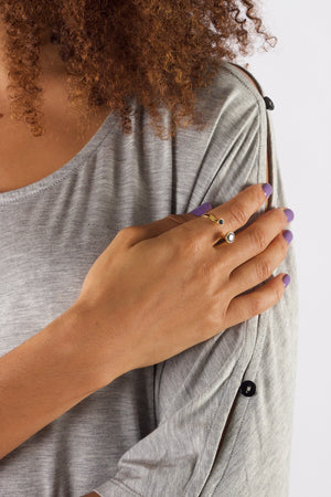 Unity ring by Emi & Eve, available on ZERRIN