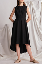 Lily & Lou Alicia Dress in Black, available in ZERRIN