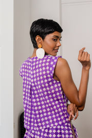 Maisha Concept Baadal Top in Purple