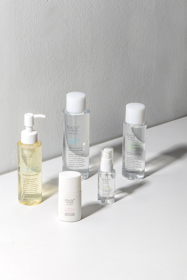 Natural skincare online The Skin Firm's full cleansing range is available on ZERRIN