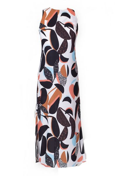 Hide the Label Thaila Midi Dress in Abstract Floral Print