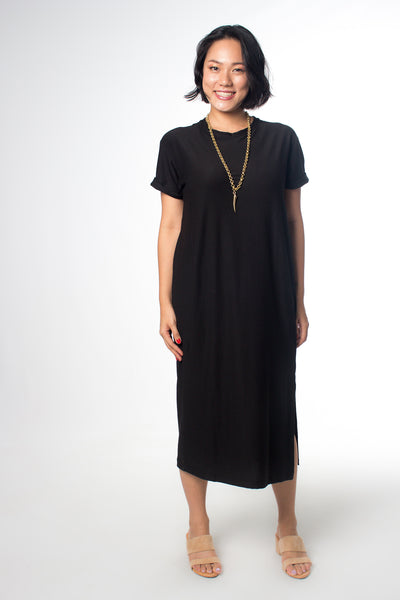 Paradigm Shift The Long Black Ultimate T-shirt Dress