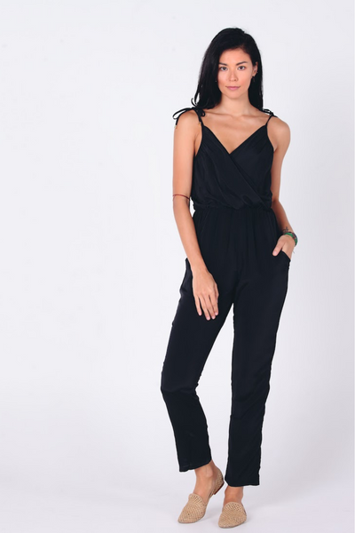 Aanya Silk Mix Jumpsuit, available in ZERRIN