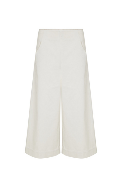Deploy Ankle-length Culottes in Birch, available in ZERRIN