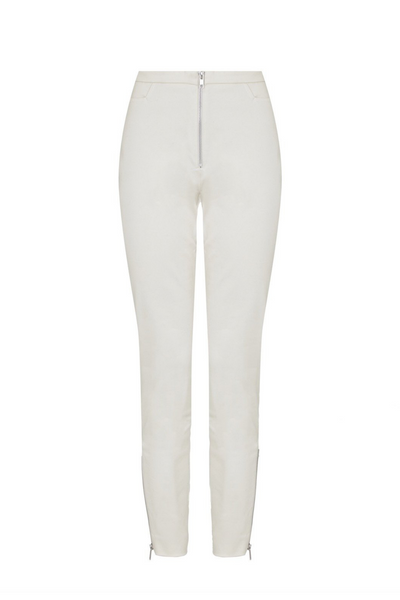 Deploy Stretch Cotton Twill Skinny in Birch, available in ZERRIN