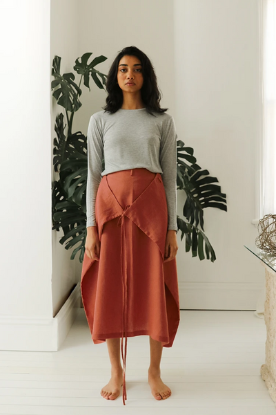 Esse Linen Multi-Way Skirt, available in ZERRIN