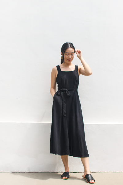 Abundance Dress in Black by Paradigm Shift, available at ZERRIN