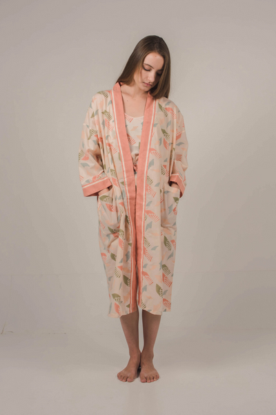 Nost Stara Robe in Spiral Blush, available in ZERRIN