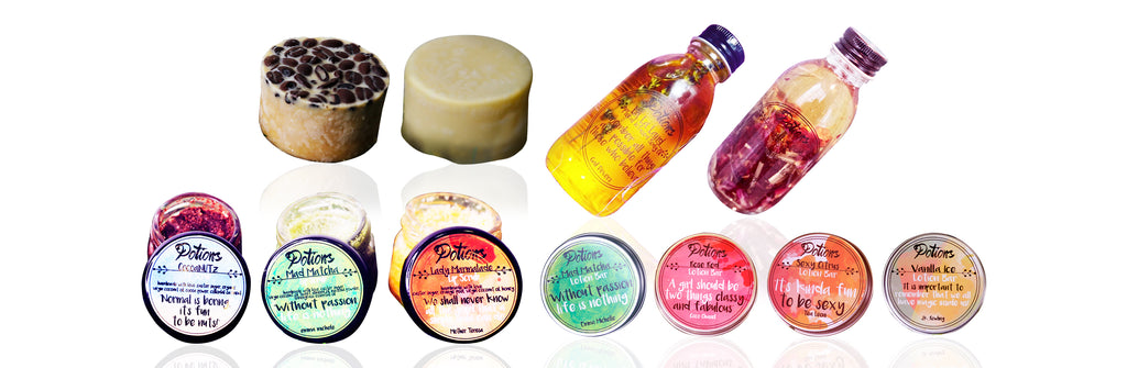 Heal Your Skin With Potions