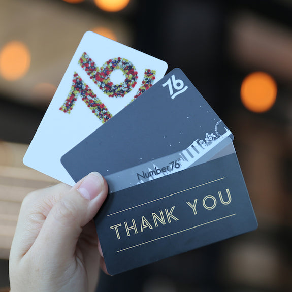 Number76 Gift Card