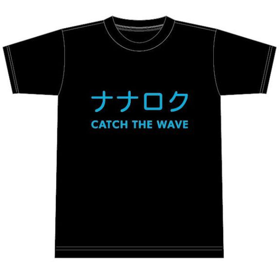 Number76 Original NANAROKU Tee - Black/Blue