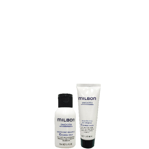 Global Milbon Smooth Travel Set 50ml  - Coarse Hair