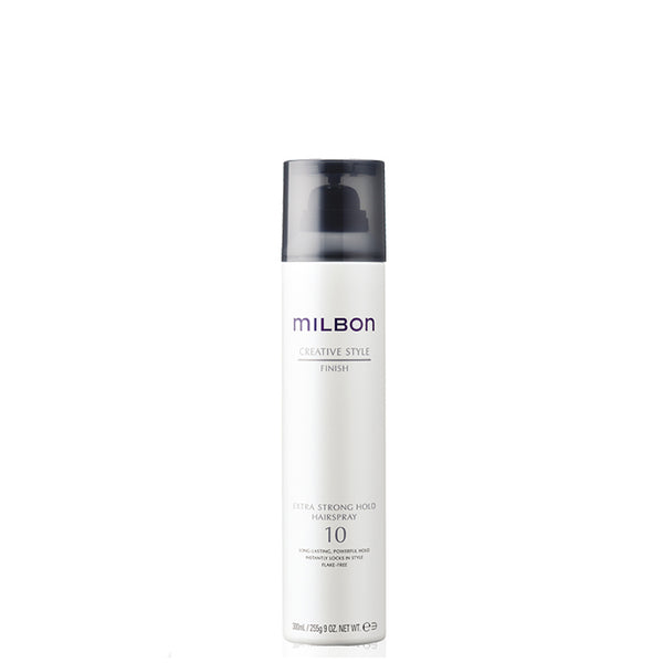 Global Milbon Styling Finish Hair Spray Extra Strong Hold 10