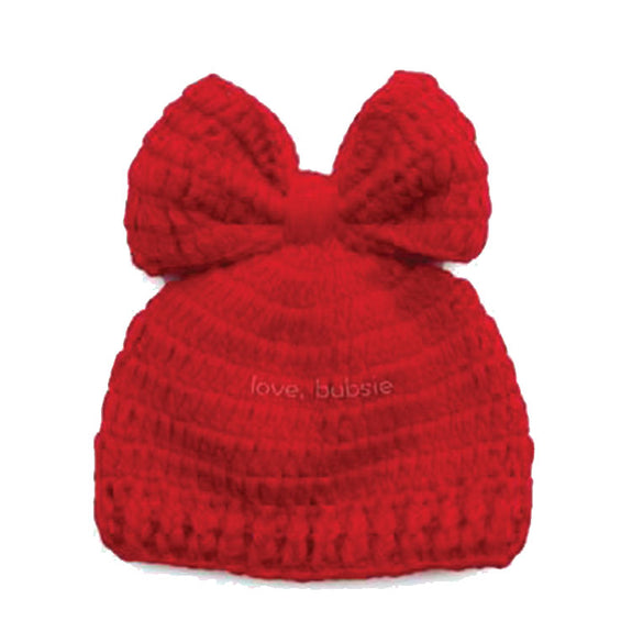 love, bubsie Baby Knitwear Little Red Ridin' Bow