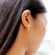 nemunemu Clip-on Earring Ring Ring
