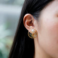 nemunemu Earring Ring Ring